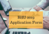 BHU 2019 Online Application Form