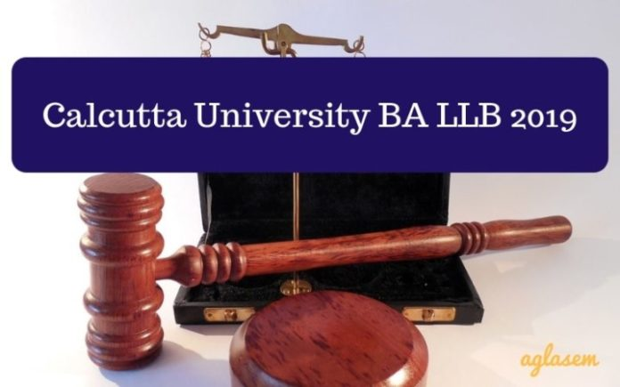 Calcutta University BA LLB 2019