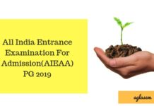 All India Entrance Examination For Admission(AIEAA) PG 2019
