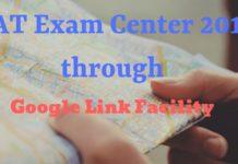 Check Your CAT Exam Center