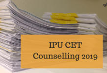 IPU CET Counselling 2019