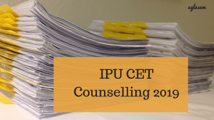 IPU CET Counselling 2019