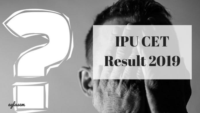 IPU CET Result 2019
