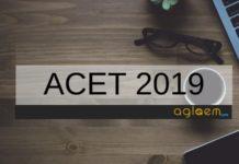 ACET 2019 Aglasem