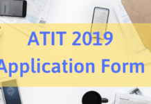 ATIT 2019 Application Form