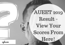 AUEET 2019 Result