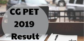 CG PET 2019 Result Aglasem