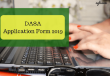 DASA Application Form 2019