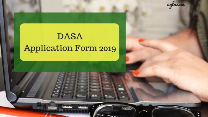 DASA Application Form 2019 - Application Fee, How To Apply, Direct Link | AglaSem Admission