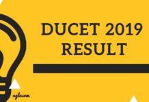 DUCET 2019 Result Aglasem