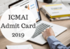 ICMAI Admit Card 2019