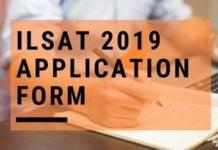 ILSAT 2019 Application Form Aglasem