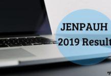 JENPAUH 2019 Result Aglasem