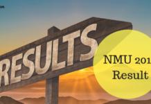 NMU 2019 Result