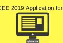 OJEE 2019 Application Form