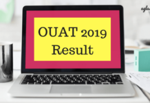 OUAT 2019 Result