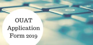 OUAT Application Form 2019