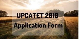 UPCATET 2019 Application Form Aglasem