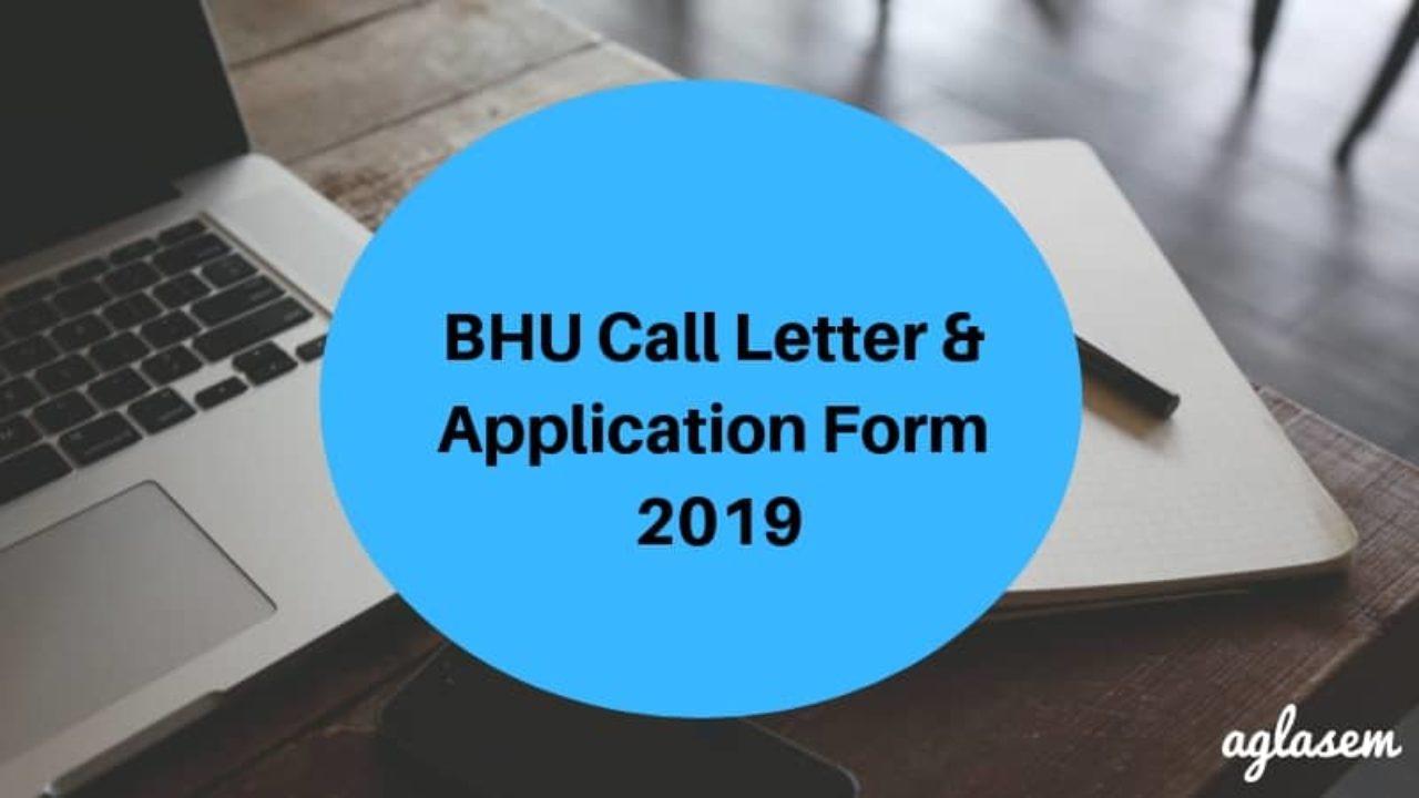 BHU Call Letter & Application Form 2019 - Dates, Process | AglaSem