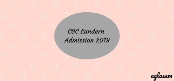 CGC Landran Admission