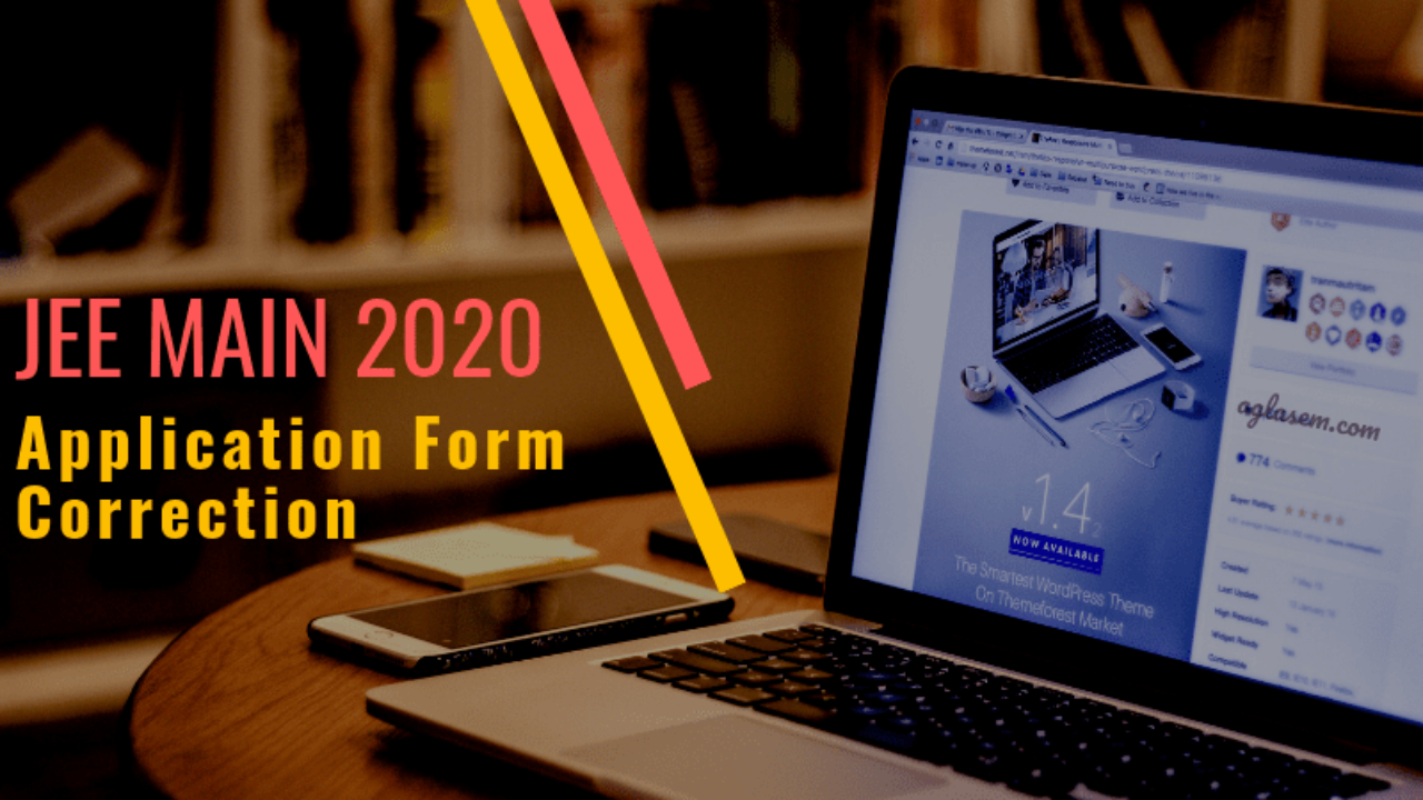 JEE Main 2020 Application Form Correction - How To Edit Your