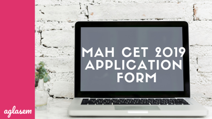 MAH CET 2019 Application Form