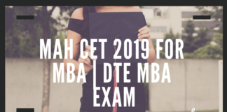 MAH CET 2019 for MBA _ DTE MBA Exam