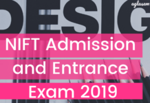 NIFT Admission and Entrance Exam 2019