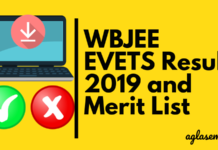 WBJEE EVETS 2019 Merit List
