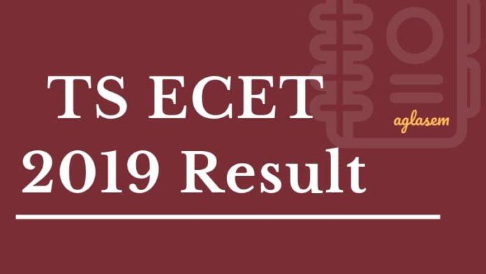 TS ECET 2019 Result Aglasem