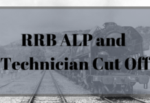 RRB ALP & Technician Cut Off