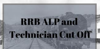 RRB ALP & Technician Cut Off