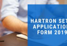 Hartron setc application form 2019