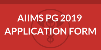 AIIMS PG 2019 Application Form