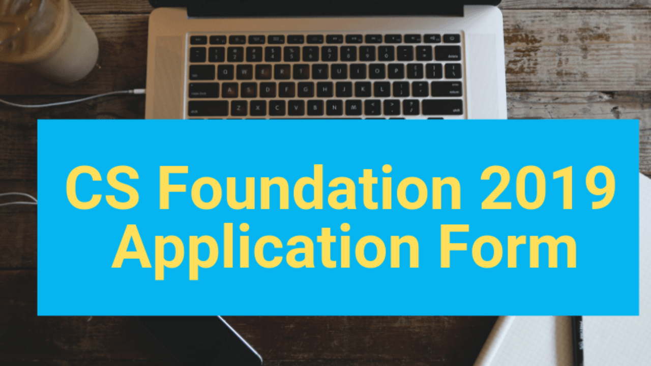 Cs Foundation Registration Form Pdf