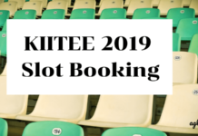 KIITEE 2019 Slot Booking