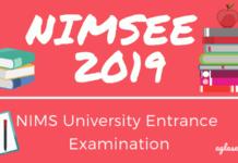 NIMSEE 2019