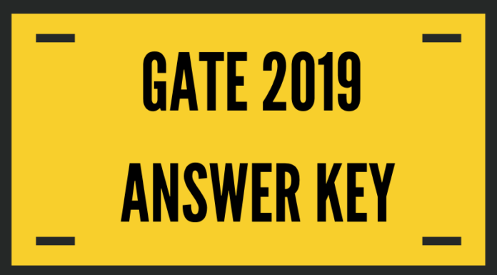 GATE 2019 Statistics (ST) Answer Key with Question Paper