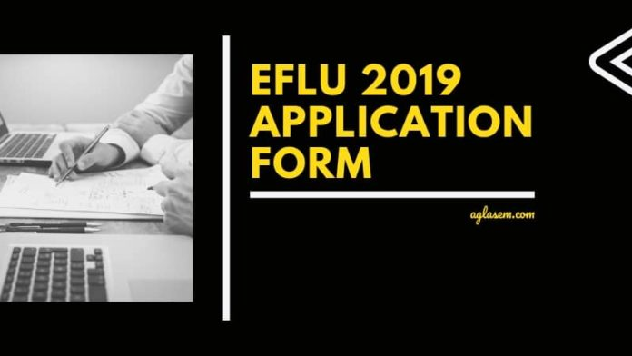 EFLU 2019 Application Form