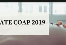 GATE COAP 2019