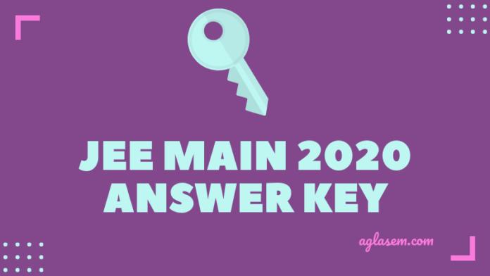 jee main  answer key check  jeemainnicin aglasem admission