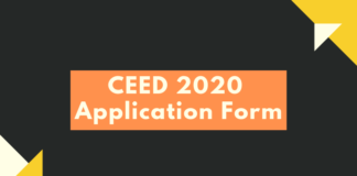 CEED 2020 Application Form