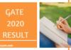 GATE 2020 Result