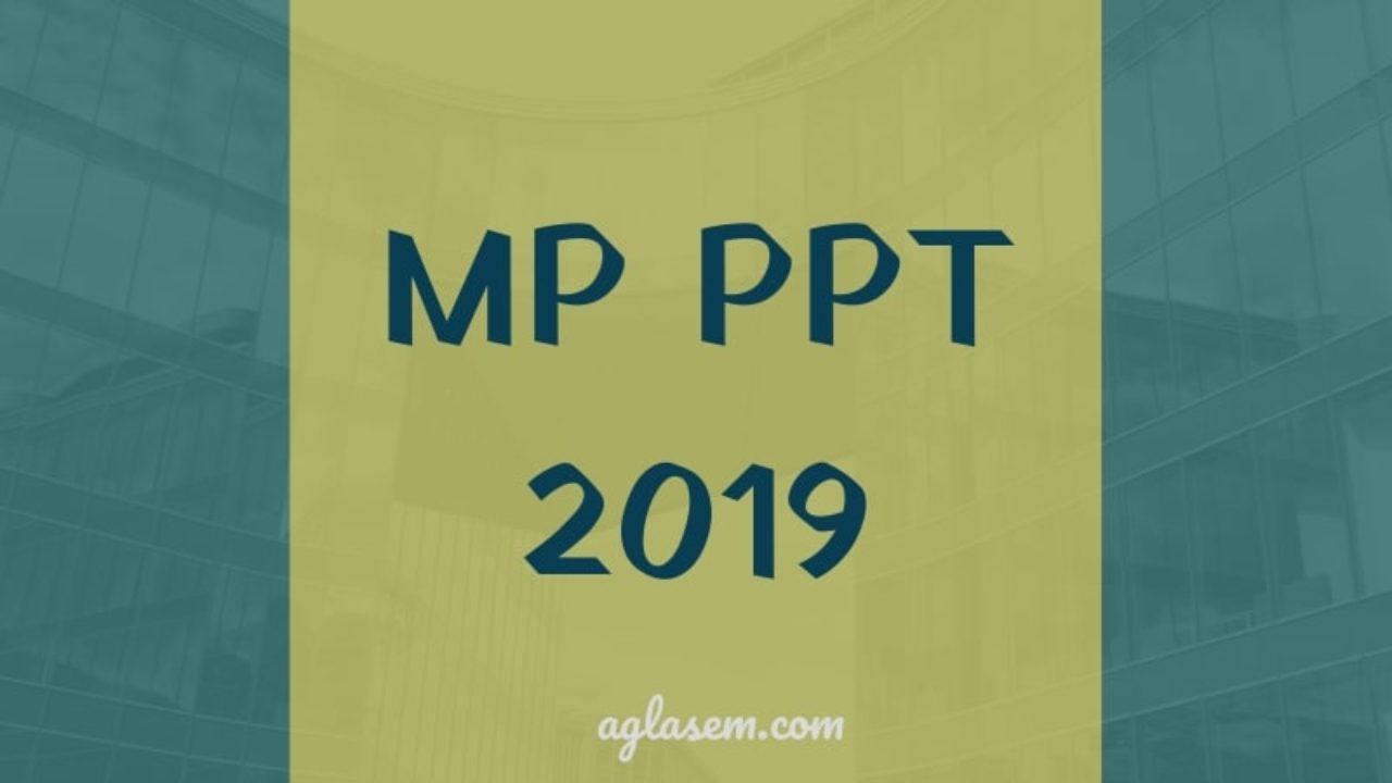 MP PPT 2019 - MP Polytechnic, Answer Key, Result   AglaSem Admission