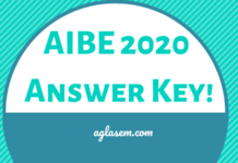 AIBE 2020 Answer Key