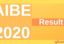 AIBE 2020 Result
