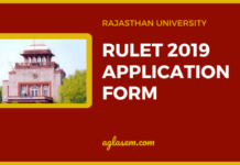 RULET 2019 Application Form